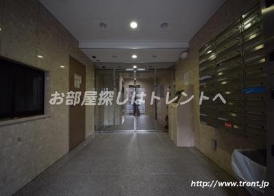 【エントランス】グランフォース早稲田