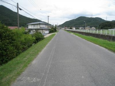 【前面道路含む現地写真】玉野市槌ヶ原 土地