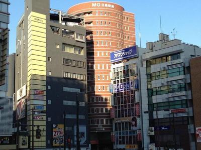 MG目黒駅前の外観です。