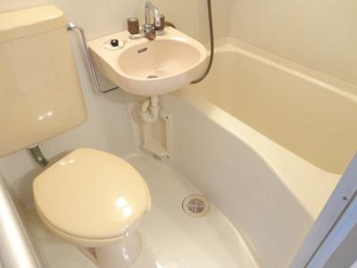 【浴室】ハイツ八戸ノ里