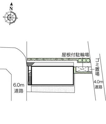 【区画図】フルール西綾瀬