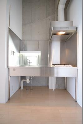 テルツェット (1R+ロフト)  キッチン