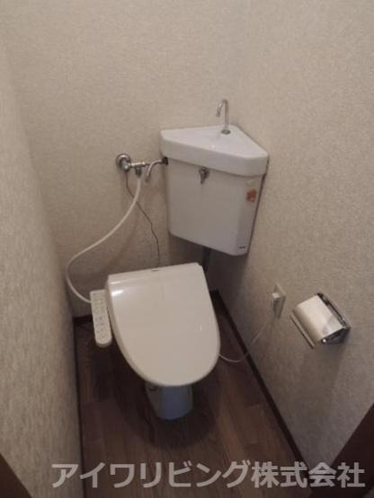 温水洗浄便座完備【カツザワコーポB】