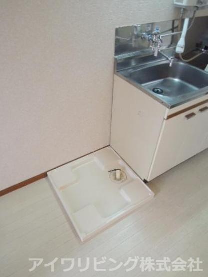 室内洗濯機置場有り【カツザワコーポB】