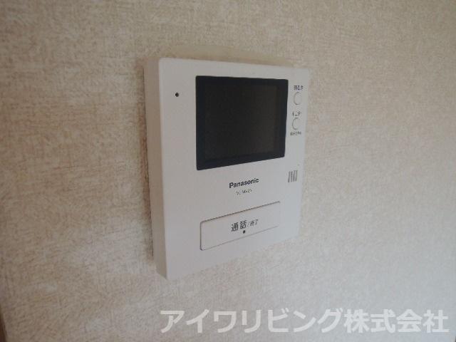 カラーTVモニターホン付き【カツザワコーポB】