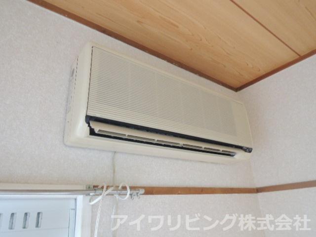 エアコン完備【カツザワコーポB】