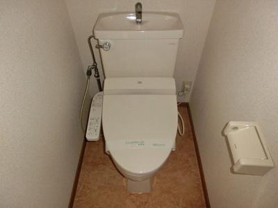DSパークレジデンス大濠(1K) トイレ 写真は別号室です
