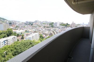 【バルコニー】デメテル高取台