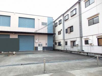 【外観パース】藤井庄産業リース倉庫