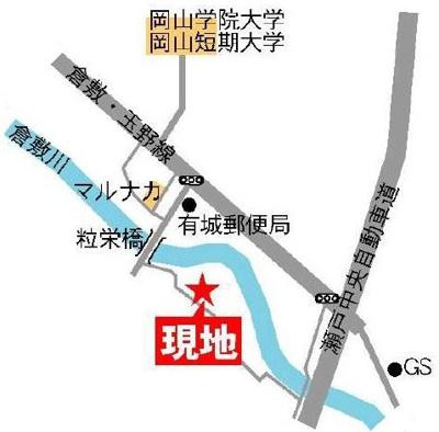 【地図】パルクプレッソB棟