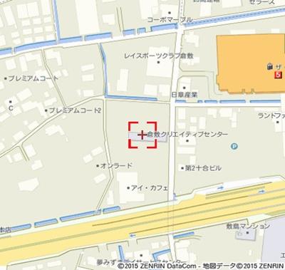 【地図】K-city葦高