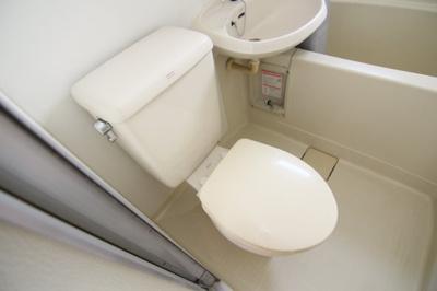 【トイレ】ニチエイハイツ