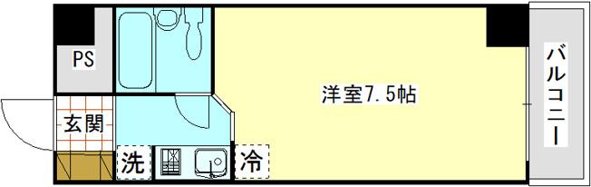 トーヨーマリンハイム603 1R 横須賀市田浦港町無番地