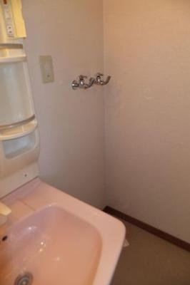 洗濯機用水栓、水とお湯出ます☆