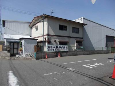 【外観】木材通 倉庫・工場