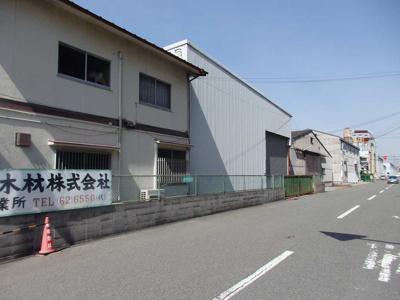 【周辺】木材通 倉庫・工場