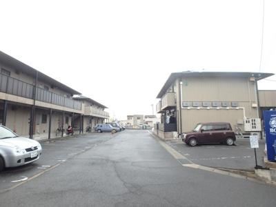 えとあシティA 倉敷市白楽町 賃貸アパート 駐車場