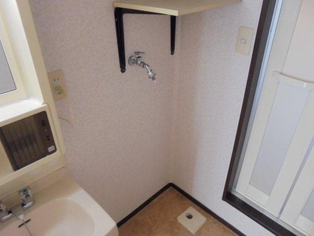 サンライフアオキ2 設備 洗濯機置場