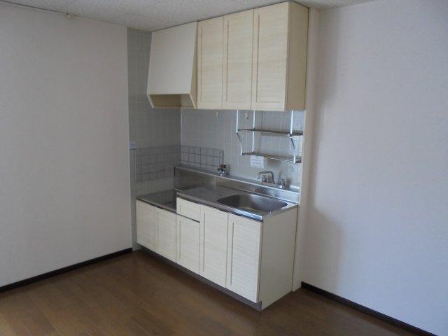 サンライフアオキ2 キッチン 全体