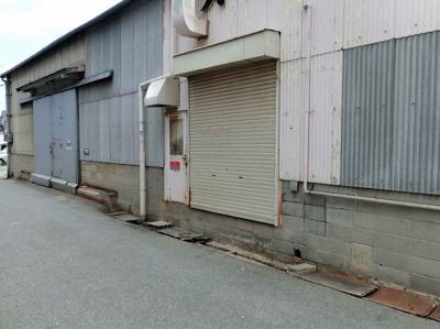 【外観】立部倉庫、約79坪