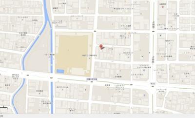 【地図】今川貸倉庫 約43坪