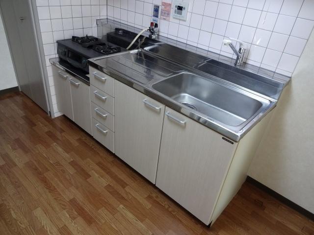【キッチン】ハイツブリックス