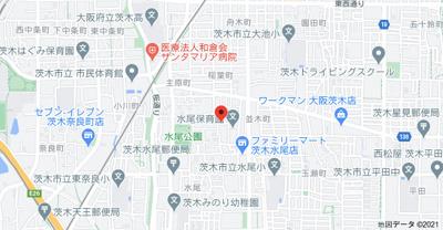 【地図】水尾ちとせハイツ