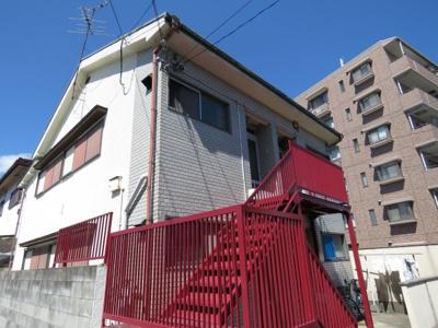 【外観】三宅四戸一貸家