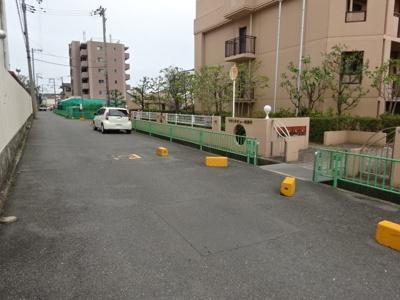 【玄関】マウントビュー西田中