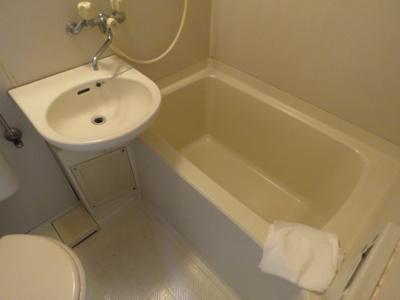 【浴室】フローラルハイツ