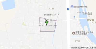 【地図】高木ハイツ