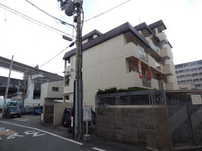 【外観パース】第3マンション南茨木