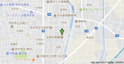 【地図】ジャルダン平田