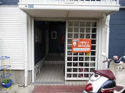 【エントランス】サンビレッジ鮎川A棟
