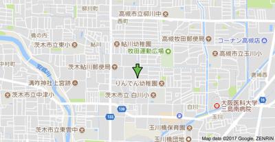 【地図】サンビレッジ鮎川A棟