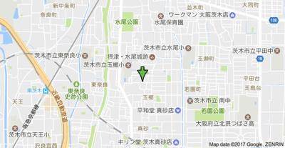 【地図】グランシャリオ水尾