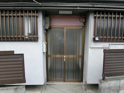 【エントランス】川本5戸1平屋