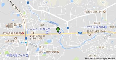 【地図】川本5戸1平屋