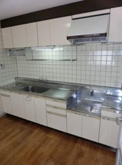 【キッチン】メゾンリヴィエールⅠ