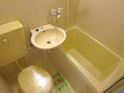 【浴室】新北野プラザ