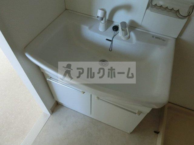サンハイツ(河内国分駅) 2DK 洗面台