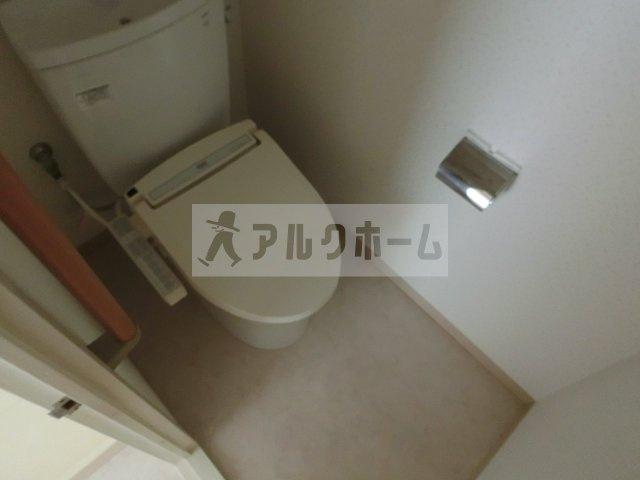 サンハイツ(河内国分駅) 2DK トイレ