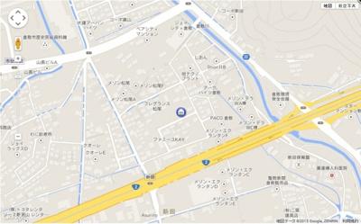 【地図】ロジュマン