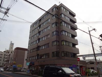 【外観パース】アパートメントビル多田