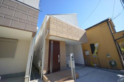 【外観】世田谷区桜丘 新築戸建 全3棟