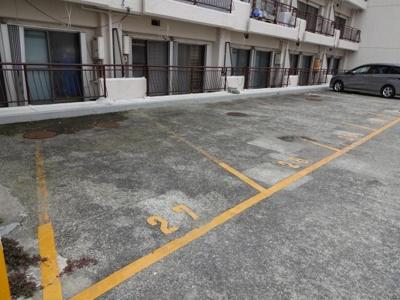 【駐車場】ハイツキシマ2号館