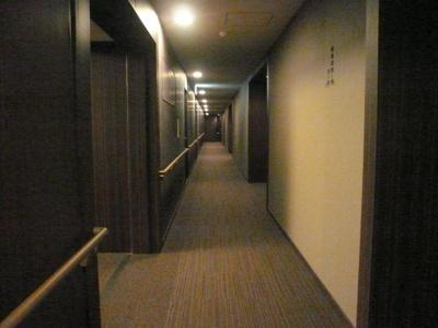 シティタワー麻布十番 内廊下