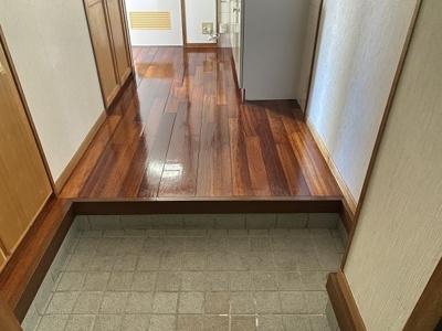 【玄関】コーポ高良Ⅲ