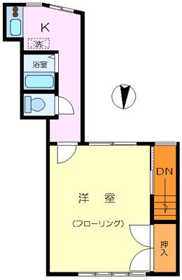 【居間・リビング】大口斉藤アパート