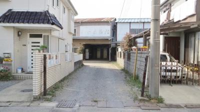 【前面道路含む現地写真】花野井売地